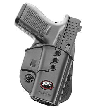 Fobus paddle holster Glock 43, 43X, 48 (geen versie met rail)