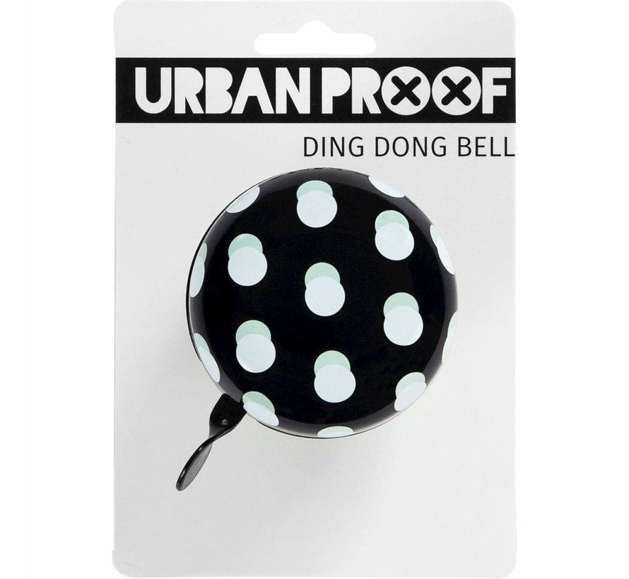 UP Dingdong bel 65MM Stip zwart