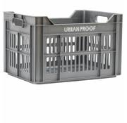 Urban Proof UP Fietskrat 30L Zilver