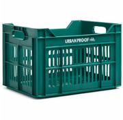 Urban Proof UP Fietskrat 30L Emerald green - RECYCLED