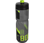 Polisport bidon S800 black/lime