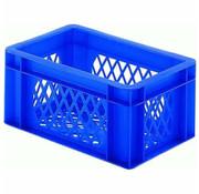 Merkloos transport bagage krat mini Blauw