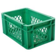 Merkloos transport bagage krat mini Groen
