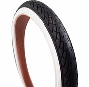 Deli Tire Deli buitenband 18x1.75 zw/wt