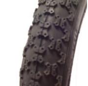 Deli Tire imp buitenband 12 1/2x2 1/4 BMX zw