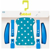 Qibbel stylingset voorzitje Polka Dot Blauw