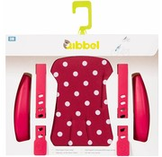 Qibbel stylingset voorzitje Polka Dot Rood