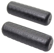 Herrmans handvat Fifty Two zwart 110/110mm (paar)
