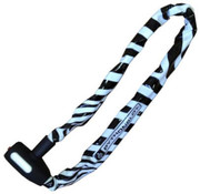 Python kettingslot 6X90 kop zebra
