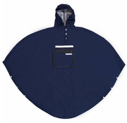 The People's Poncho Peoples Poncho navy volw
