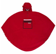 The People's Poncho Peoples Poncho red volw