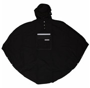 The People's Poncho Peoples Poncho black volw