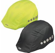 Abus regenhoes helm zwart uni