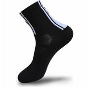 FLR Elite Sok Zwart 14 cm hoog 35 - 38