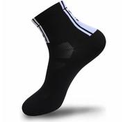 FLR Elite Sok Zwart 9 cm laag 39 - 42