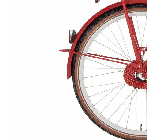 Cortina a spatb 28 U4 true red matt
