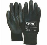 Cyclus handschoen WP L zw/brn