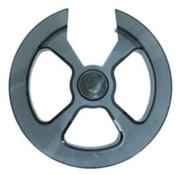 Hebie chain disc 42/44t transp bl