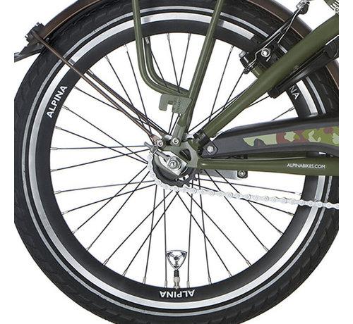 Alpina a wiel 20 J19DB black matt-silver