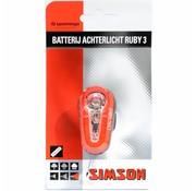 Simson a licht Ruby 3 batt