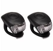 Urban Proof UP Siliconen LED Fietslampjes set Zwart