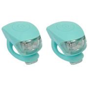 Urban Proof UP Siliconen LED Fietslampjes set Oceaan Blauw