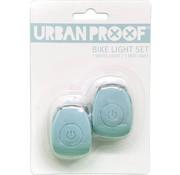 Urban Proof UP Siliconen LED Fietslampjes set Vintage blue
