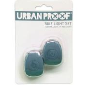 Urban Proof UP Siliconen LED Fietslampjes set Icy blue