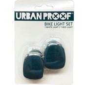 Urban Proof UP Siliconen LED Fietslampjes set Emerald green