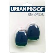 Urban Proof UP Siliconen LED Fietslampjes set Dark blue