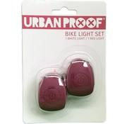 Urban Proof UP Siliconen LED Fietslampjes set Warm pink