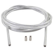 Cortina bt versn kabel white braid