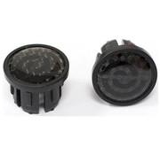 Bikeribbon eind plug Kunststof  carbon  zwart
