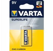 Varta batterij Superlife 6F22 9 Volt krt (1)