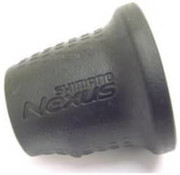 Shimano Nexus 8 speed rubber grip zwart