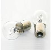 Merkloos lampje 12V 21W BA15S (2) BK
