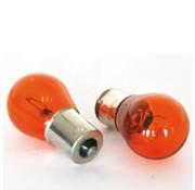 Merkloos lampje 12V 21W BA15S (2) BK Oranje
