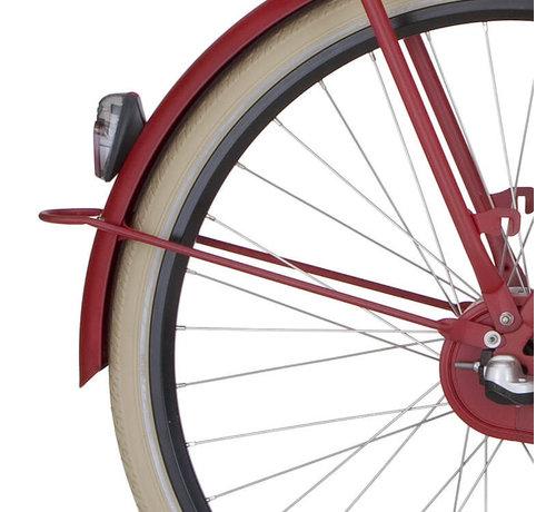 Cortina a spatb stang 28 U1 rood