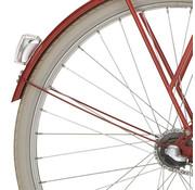 Cortina a spatb stang 28 Tweed rood