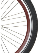 Alpina velg 24 J19DB 9x4 YS9018 rood