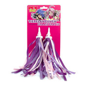 Merkloos handvat streamer Paars Roze