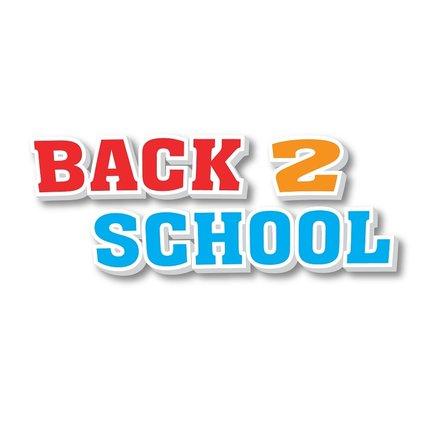 Back 2 School - de scholen gaan weer beginnen!