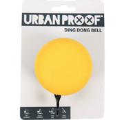 Urban Proof UP bel Ding Dong 60mm mat grijs / okergeel