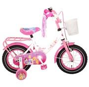 Disney Princess meisjesfiets 12 inch Roze