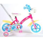 Peppa Pig meisjesfiets 10 inch roze/blauw