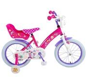 Disney Minnie Bow Tique meisjesfiets 16 inch Roze Paars