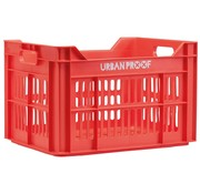 Urban Proof fietskrat 30L Lobster Red