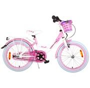 Volare Rose meisjesfiets 18 inch wit roze