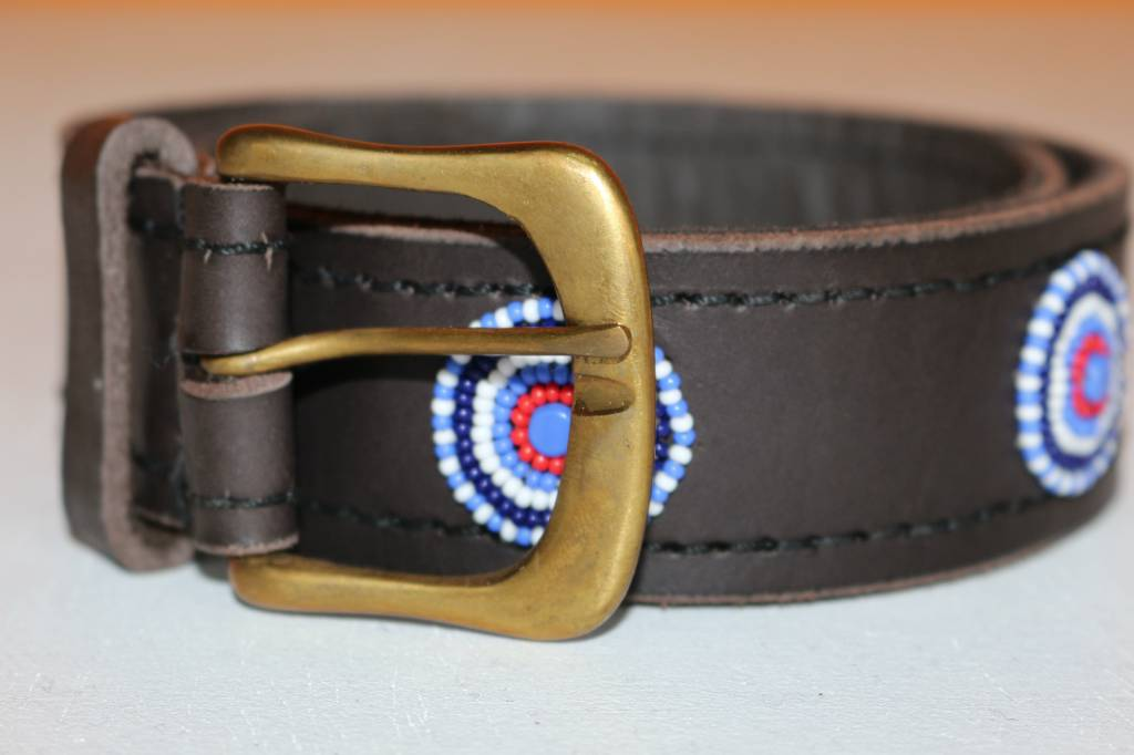 HANDMADE IN KENYA ANGOLA BELT
