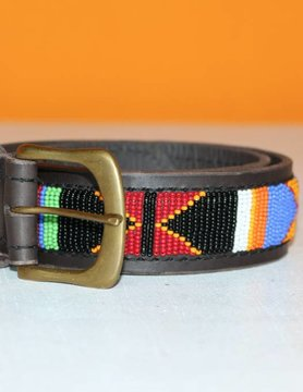 HANDMADE IN KENYA MALAWI BELT